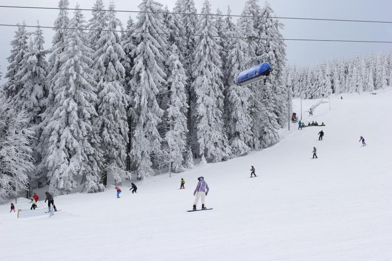 Doskonałe warunki narciarskie wZieleńcu