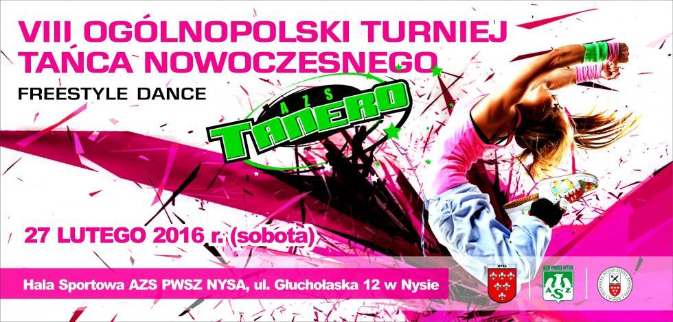 VIII Ogólnopolski Turniej Tańca Nowoczesnego Freestyle Dance