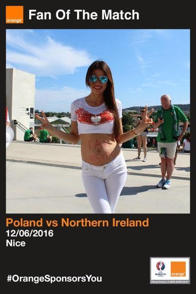 """Wizerunek wrocławianki """"najfajniejszym zdjęciem Euro 2016"""""""