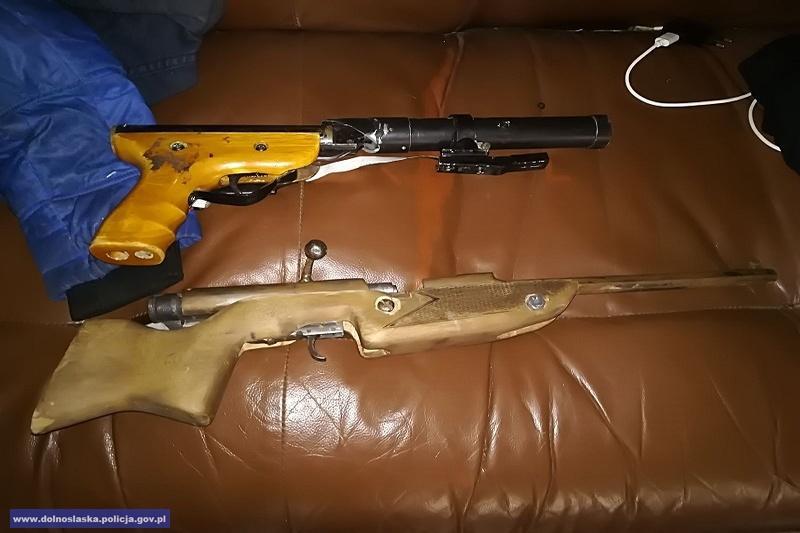 Areszt za posiadanie znacznej ilości środków odurzających oraz broni palnej