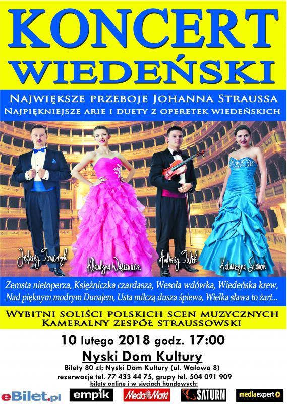 Gala Wiedeńska wNysie