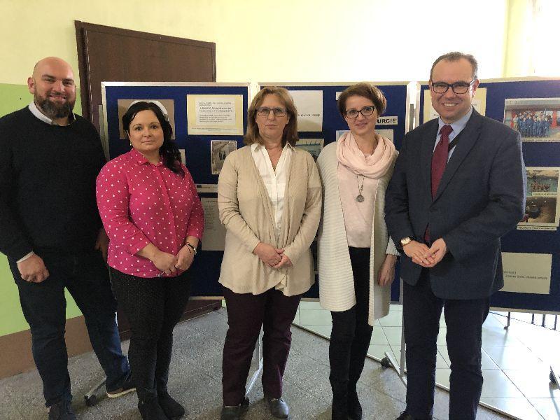 Wizyta studyjna niemieckich partnerów wZespole Szkół Technicznych
