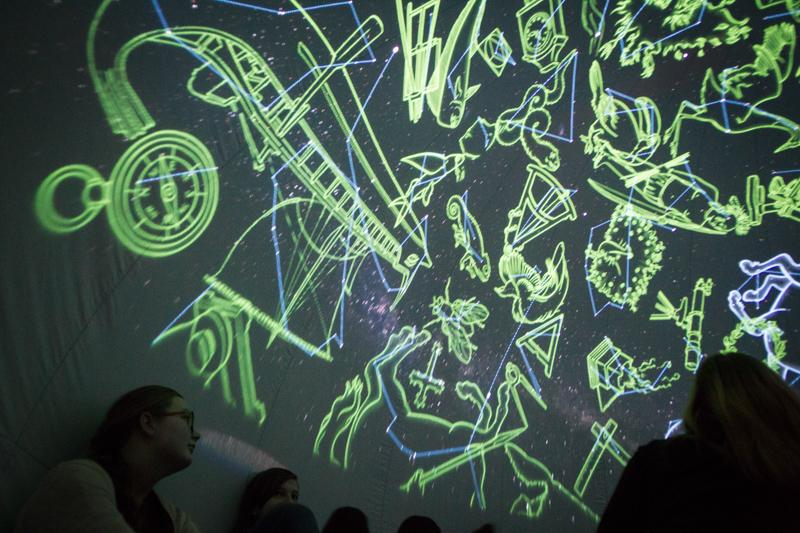 Planetarium wtrasie
