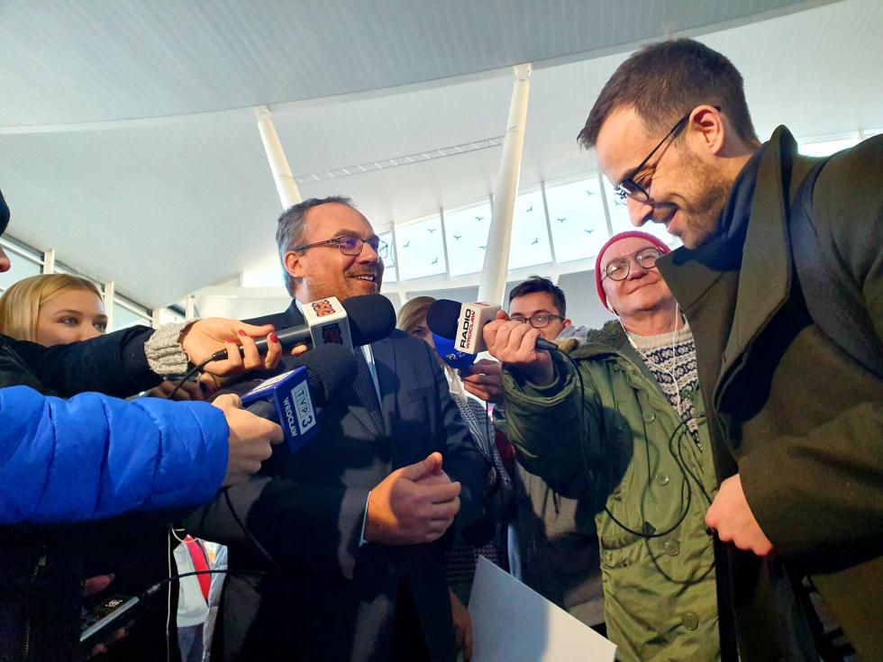 Już 20 milionów pasażerów na wrocławskim lotnisku