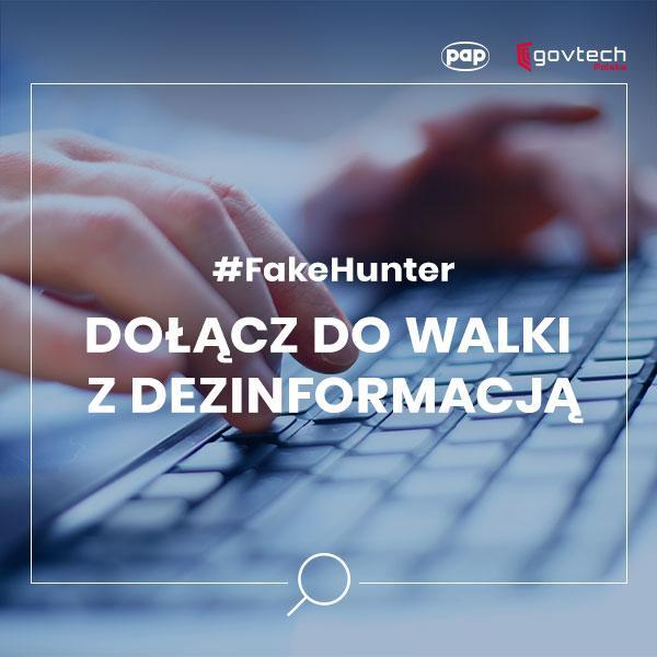 Projekt #FakeHunter: wezwanie dowalki zdezinformacją oSARS-CoV-2