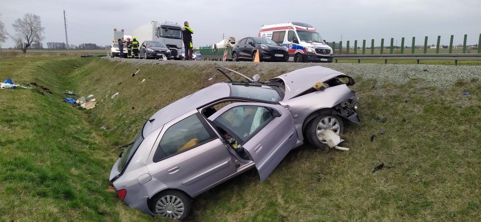 Wypadek na ósemce