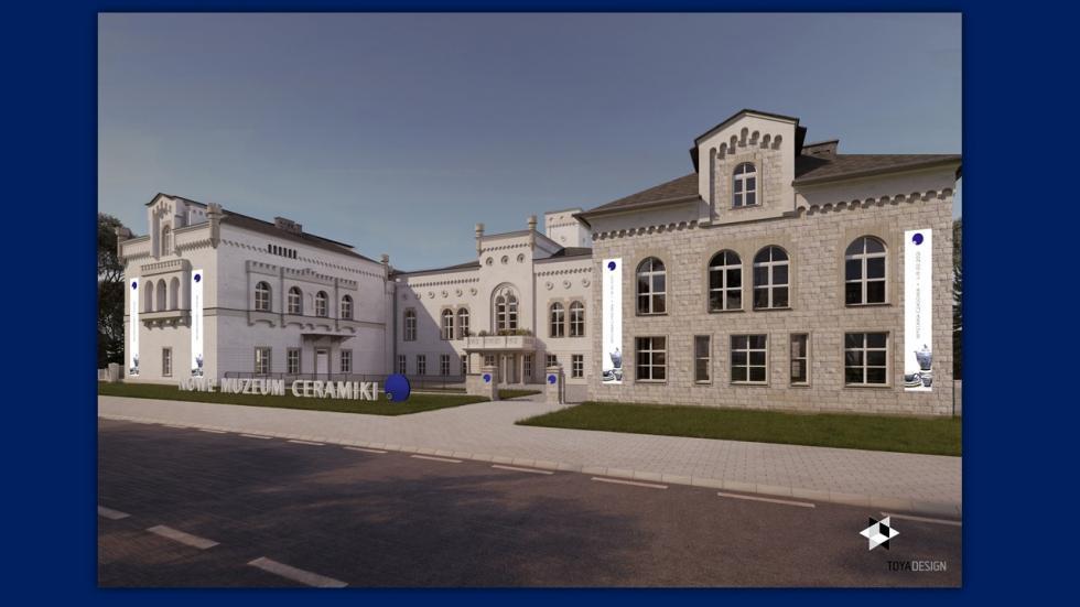 Nowe możliwości wystawiennicze, edukacyjne ifunkcjonalne dla Muzeum Ceramiki wBolesławcu